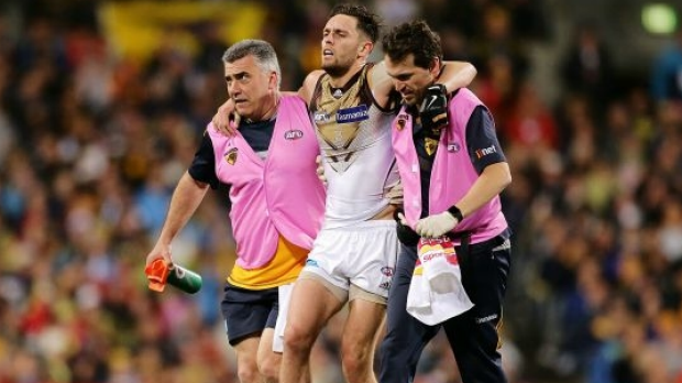 Article image for Hawthorn forward Jack Gunston ruled out of final against Adelaide Crows