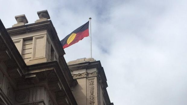 Article image for Aboriginal flag to fly permanently at Parliament House in Melbourne