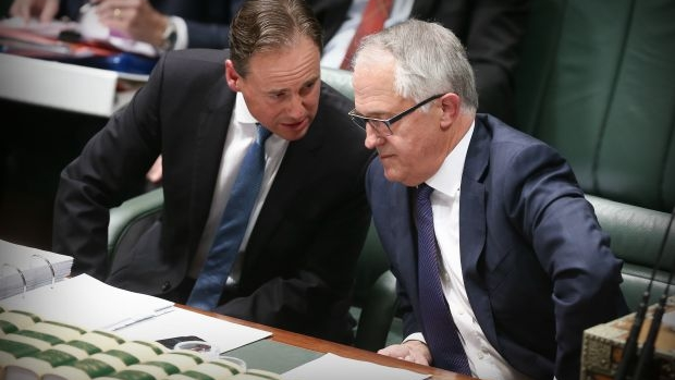 Article image for Greg Hunt reveals he voted for Tony Abbott during Liberal leadership ballot