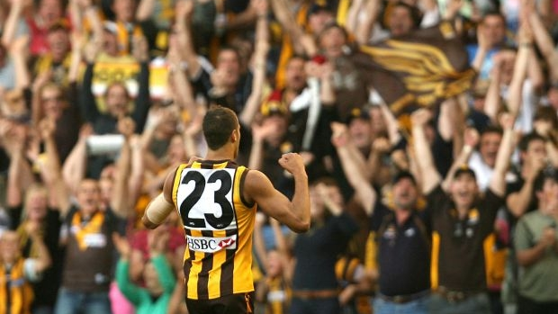 Article image for FROM THE VAULT: Lance Franklin kicks the winner in the 2007 elimination final