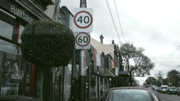 Article image for Speed signs confuse motorists in Prahran, Melbourne