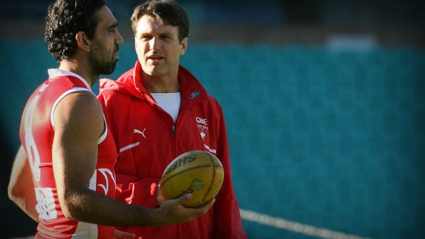 Article image for Former Sydney coach Paul Roos takes aim at critics of Adam Goodes