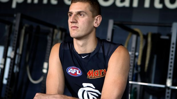 Article image for The salary cap 'loophole' that Carlton could use with Liam Jones
