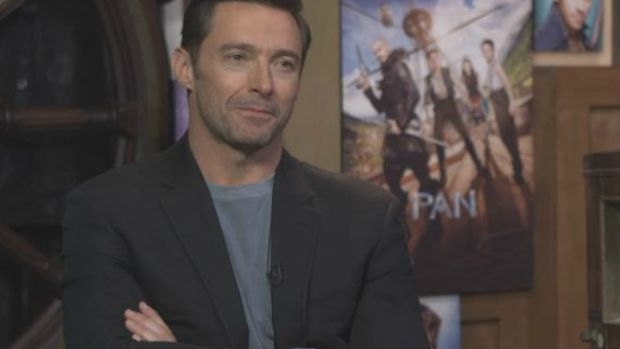 Article image for Peter Pan star Hugh Jackman reckons he's 'pretty boring'
