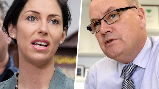 Article image for How 3AW ended the stalemate: Tony Jones grills Andrew Lezala and Luba Grigorovitch