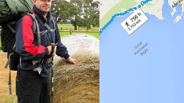 Article image for Coast to Coast: Steve Harvey's walk from Perth to Sale for the homeless
