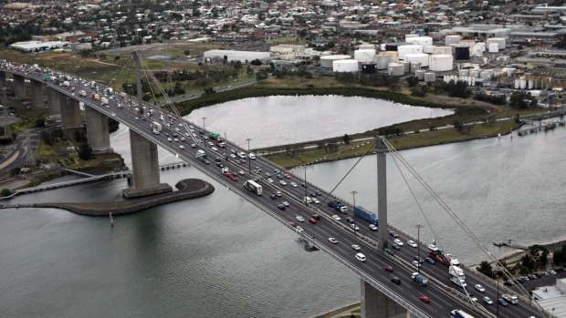 Article image for Anger over changes to West Gate-CityLink link changes