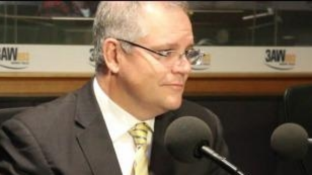 Article image for Scott Morrison's first interview with Neil Mitchell since becoming Treasurer