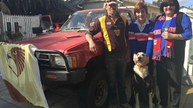 Article image for 'I'm stoked!': Hawks fan Trent's heading to the Grand Final