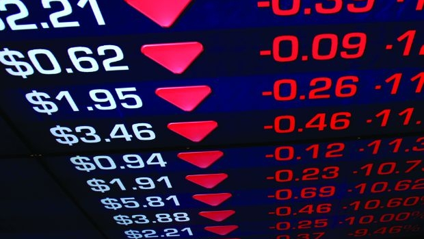Article image for Almost $60 billion wiped from Australian stock market in 'horror' day