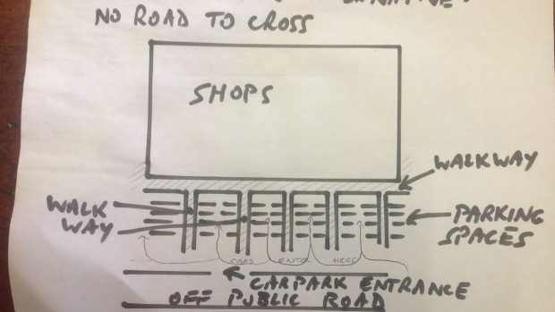 Article image for 3AW Mornings listener's idea for a new supermarket car park