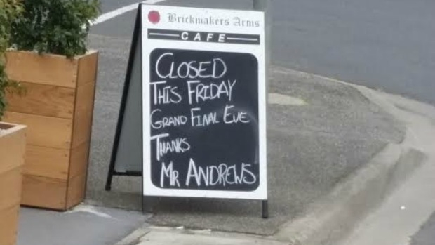 Article image for Shopkeepers across Victoria have a message for Daniel Andrews