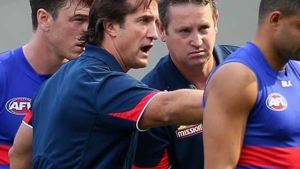 Article image for Western Bulldogs coach Luke Beveridge 'disappointed' with commentary surrounding 'game leak' investigation