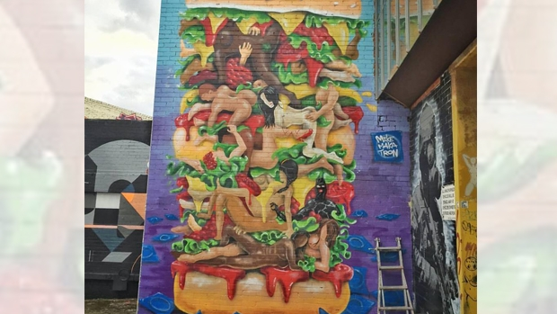 Article image for Rumour File: Sexy Brunswick hamburger mural controversy