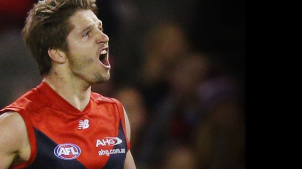 Article image for Melbourne begins 'preliminary' contract discussions with rising star Jesse Hogan, says Scoop