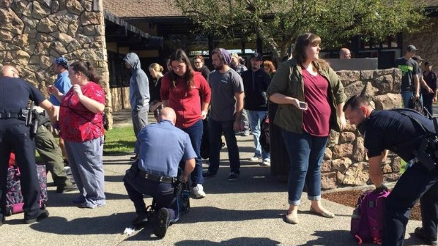 Article image for Ten believed dead after Oregon shooting