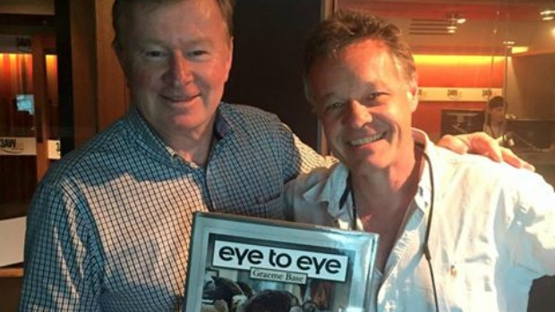 Article image for Author and illustrator Graeme Base tells Denis Walter about his new book