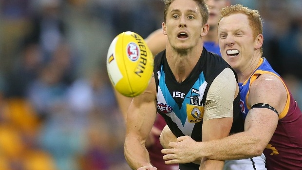 Article image for Hamish Hartlett reveals the 'main reason' he re-signed with Port Adelaide
