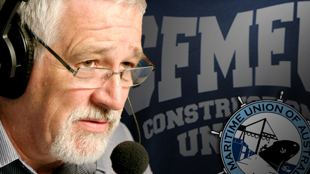 Article image for CFMEU, Maritime Union to create to super-union
