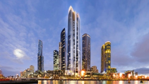 Article image for Plans for new Crown Casino tower at Southbank