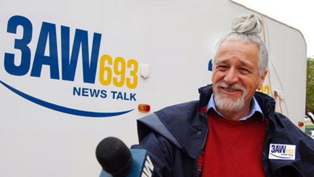 Article image for Neil Mitchell with a man bun