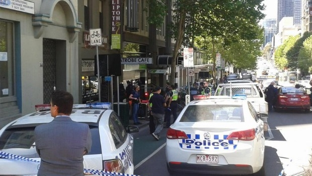 Article image for La Trobe Street blocked due to police operation