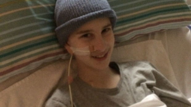 Article image for Family and community rally behind sick teen James Tharle