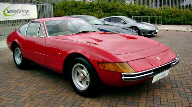 Article image for $2.5m Daytona Ferrari stolen, burnt