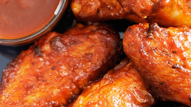 Article image for Bob Hart's barbecued buffalo wings