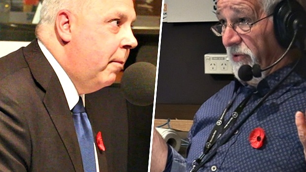 Article image for Video: Neil Mitchell's stoush with treasurer Tim Pallas over East-West Link cost