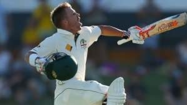 Article image for David Warner leaps his way into the records books