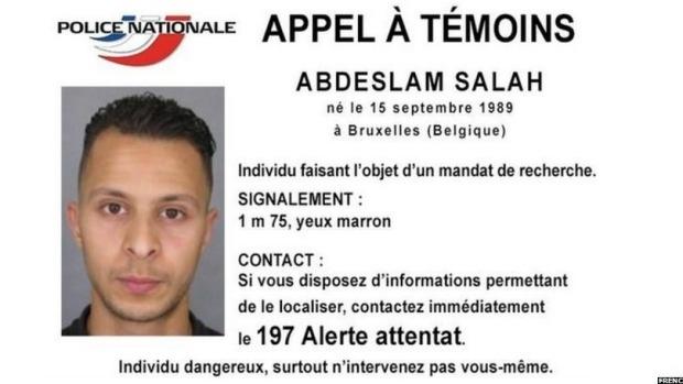 Article image for FRANCE: Hunt begins for Salah Abdeslam following Paris terrorism attacks