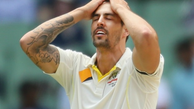 Article image for Ian Chappell and Dean Jones cast doubts over Mitchell Johnson's future