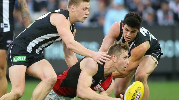 Article image for Collingwood youngster goes in to bat for Adam Treloar