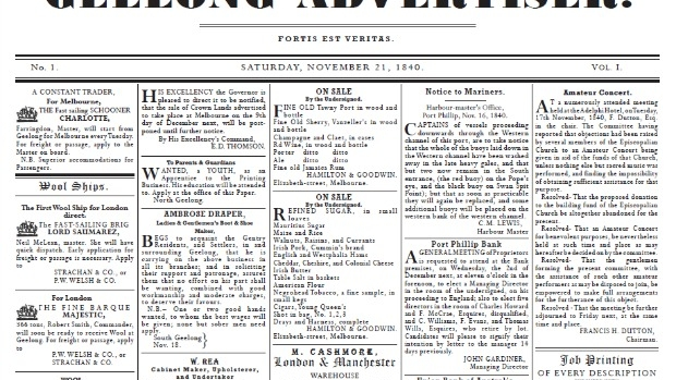 Article image for How the Geelong Advertiser has gone strong for 175 years