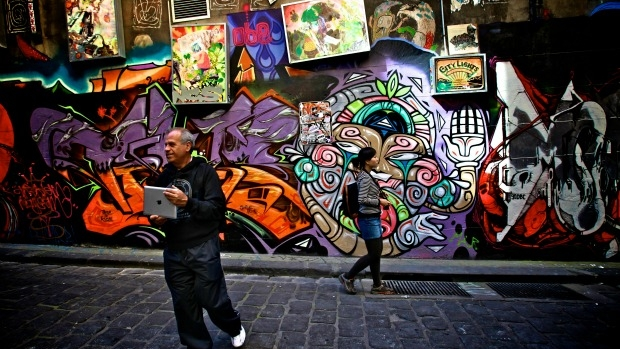 Article image for The 'unwritten rule' of street art