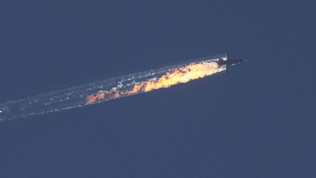 Article image for Concerns conflict will escalate after Russian jet shot down over Turkey