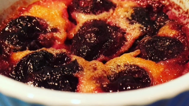 Article image for Recipe: Flip Shelton's Cherry Clafoutis