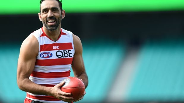 Article image for Sydney Swans set to retire number 37, worn by Adam Goodes