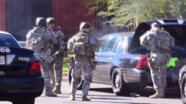 Article image for 'If someone else had a gun…': Mass shooting in San Bernadino, California