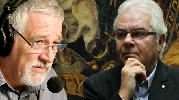 Article image for Neil Mitchell and Les Murray clash about soccer on 3AW Mornings