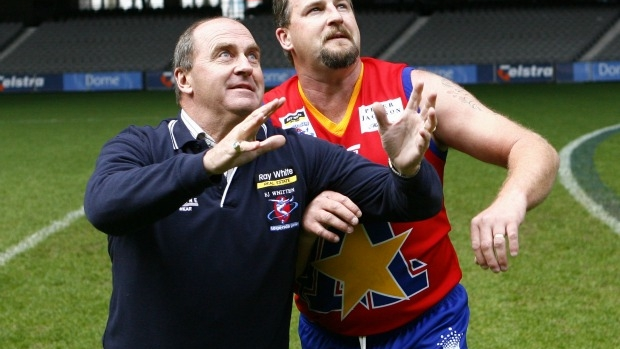 Article image for EJ Whitten Legends Game shock: Ross and John's charity sticker system