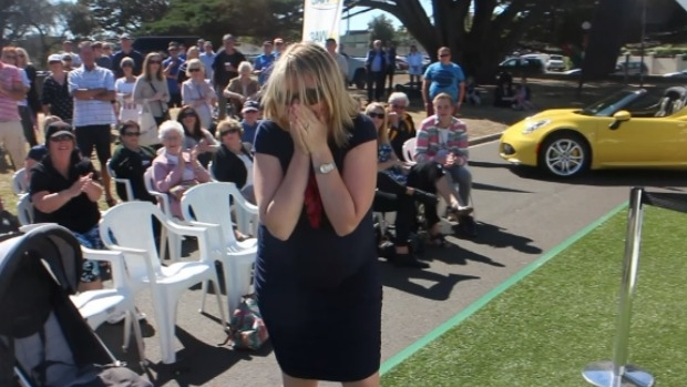 Article image for Naomi wins an Alfa Romeo with Neil Mitchell on 3AW Mornings