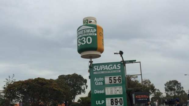 Article image for Super cheap: 89-cent petrol at Supagas petrol station, Sunshine