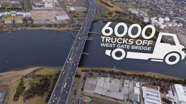 Article image for Melbourne's new road: Labor commits to Western Distributor