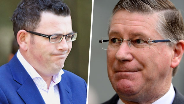 Article image for Things Daniel Andrews and Denis Napthine said about East-West Link before the election