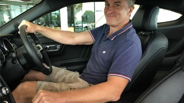 Article image for Tom Elliott picks up his Mustang car