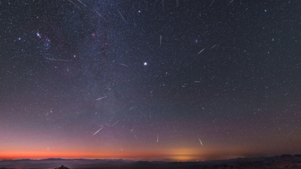 Article image for When to watch Melbourne's Geminid meteor shower