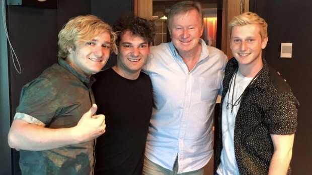 Article image for Brothers3 perform Massachusetts on 3AW Afternoons