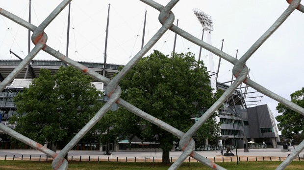Article image for Security fence to be built around MCG